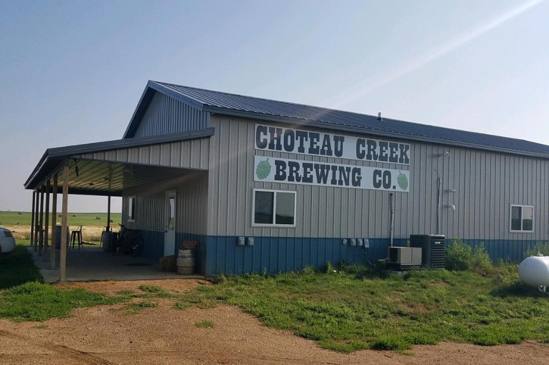 Choteau Creek entry and RV sites