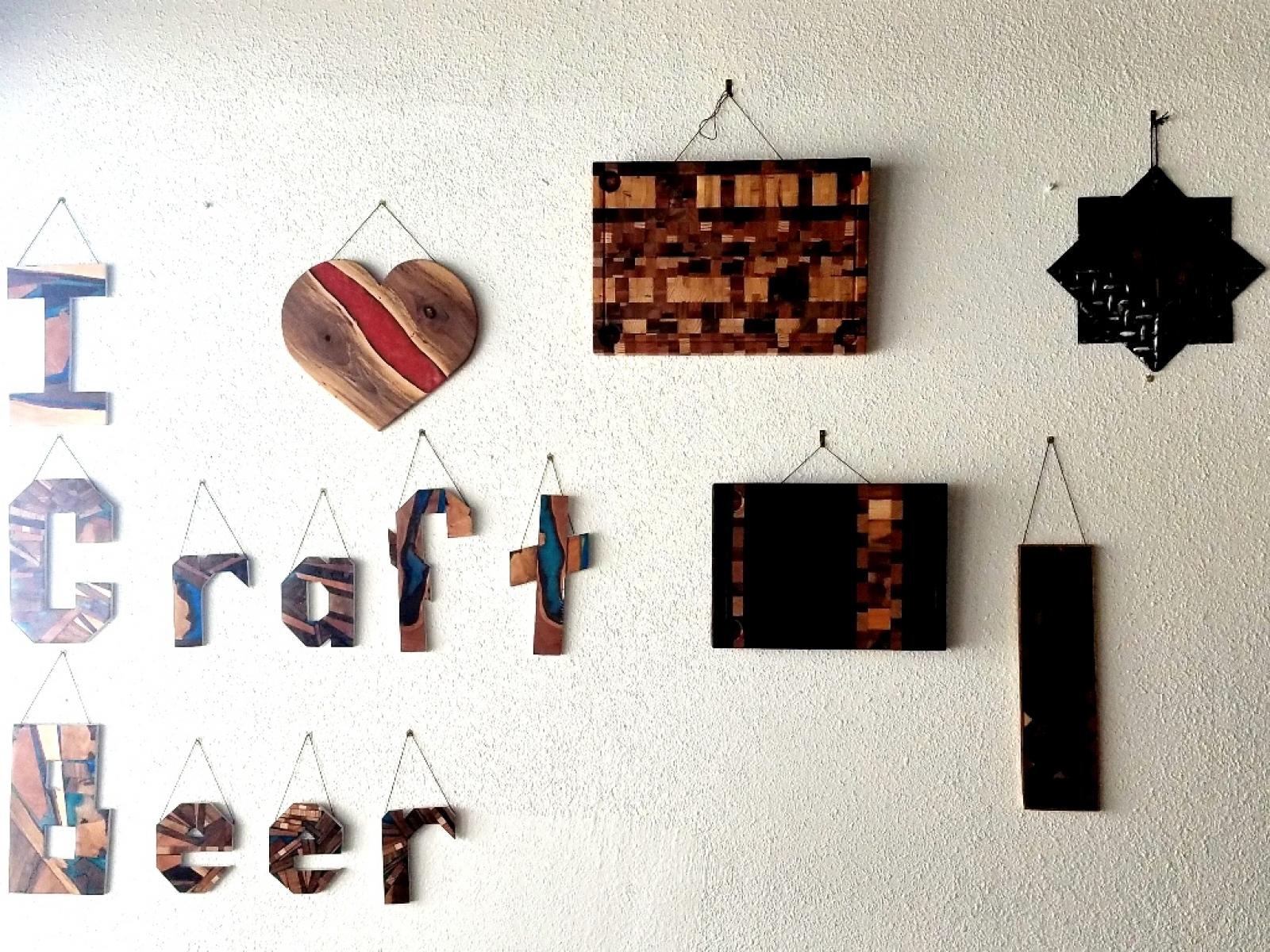 Crafty wall art