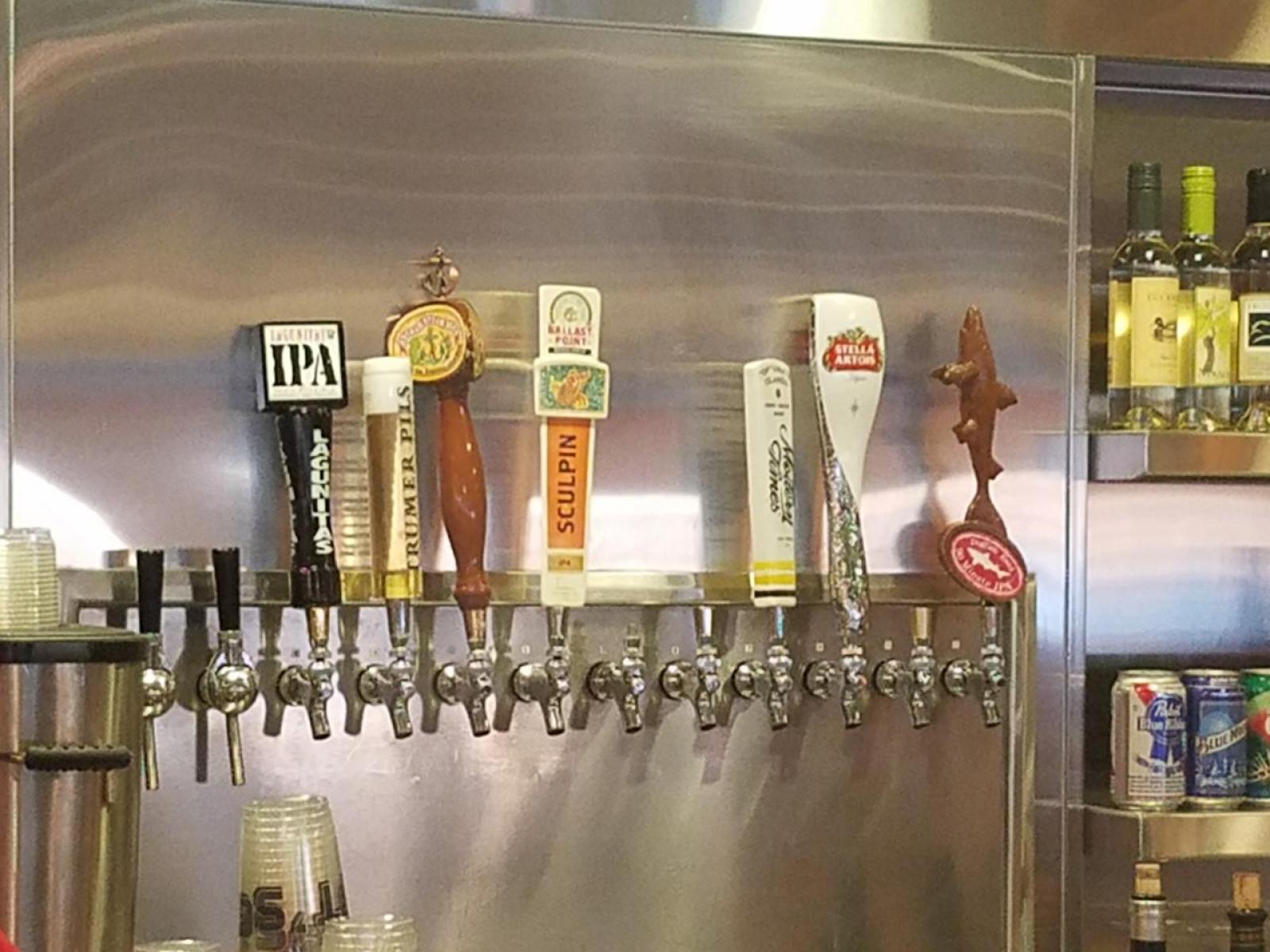 Half the taps