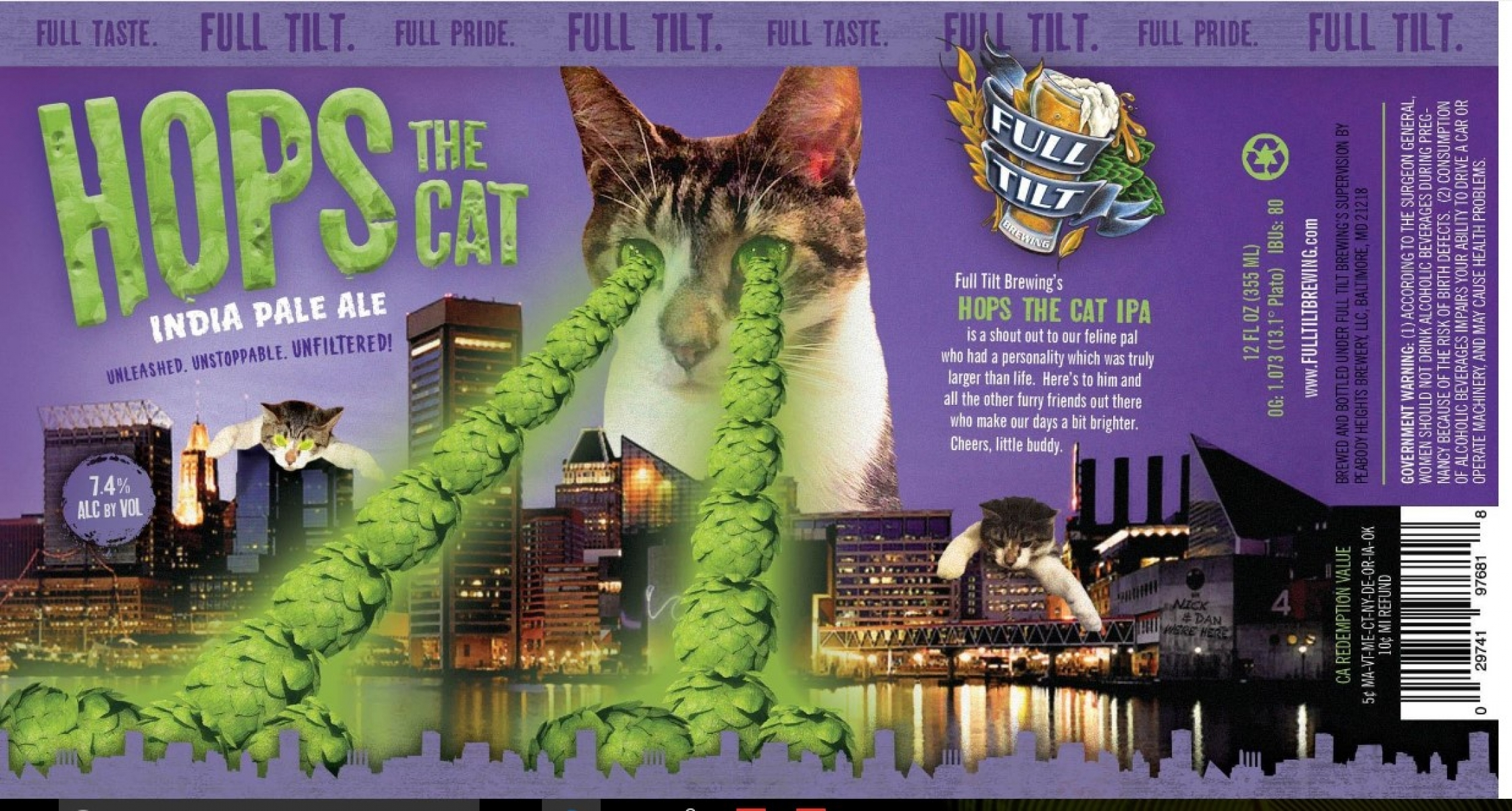 Hops The Cat IPA