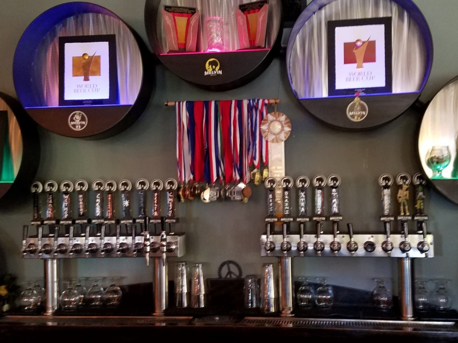 Taps and medals