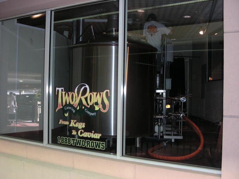 Brew Kettles from walkway