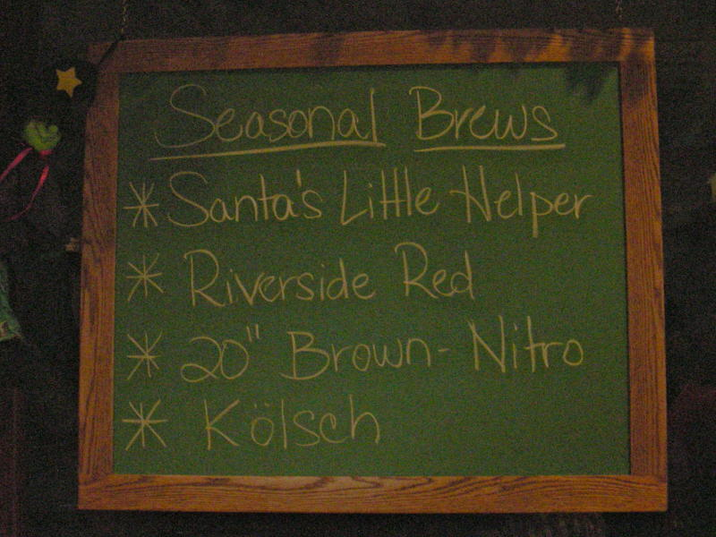 Seasonals Tap List  - 10/08