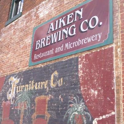 Aiken entry sign