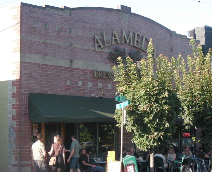 Alameda front entry