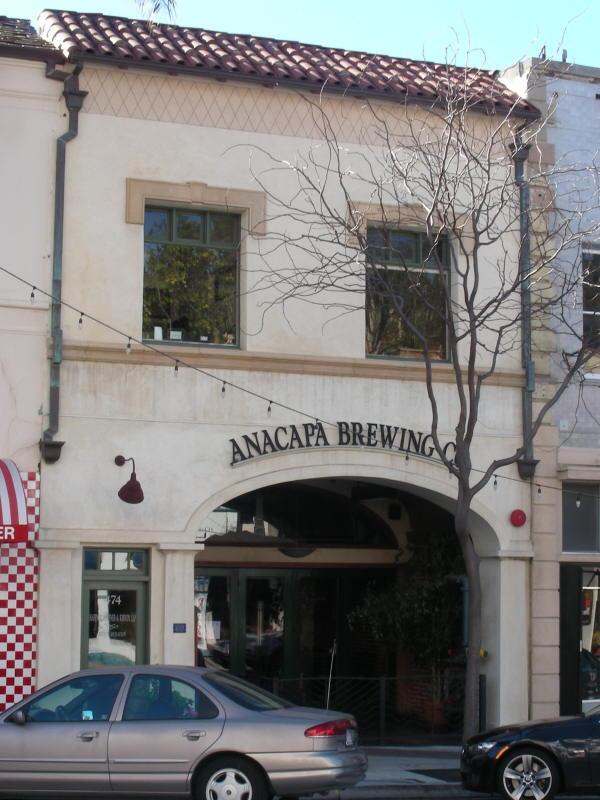 Anacapa BC entry