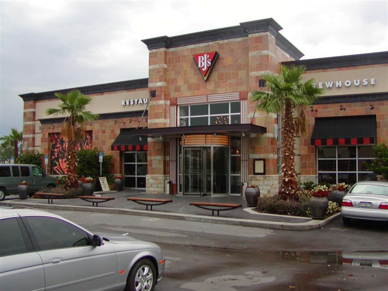 BJ's Orlando front entry
