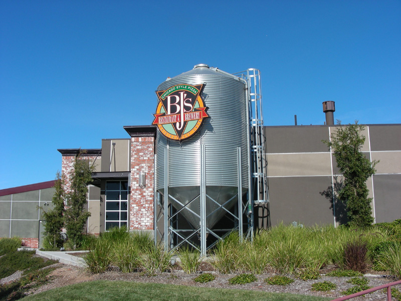 BJ's Silo from side street