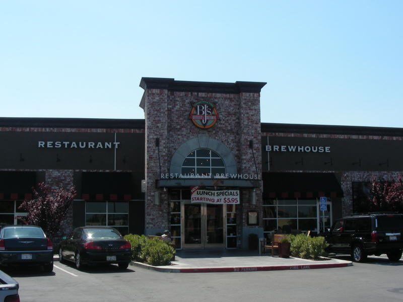 BJ's Vacaville entry