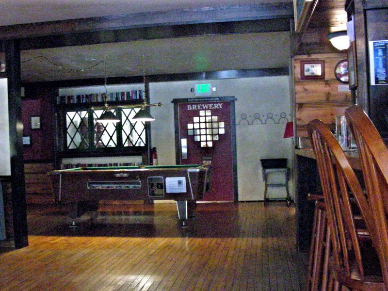 Brew Room in back