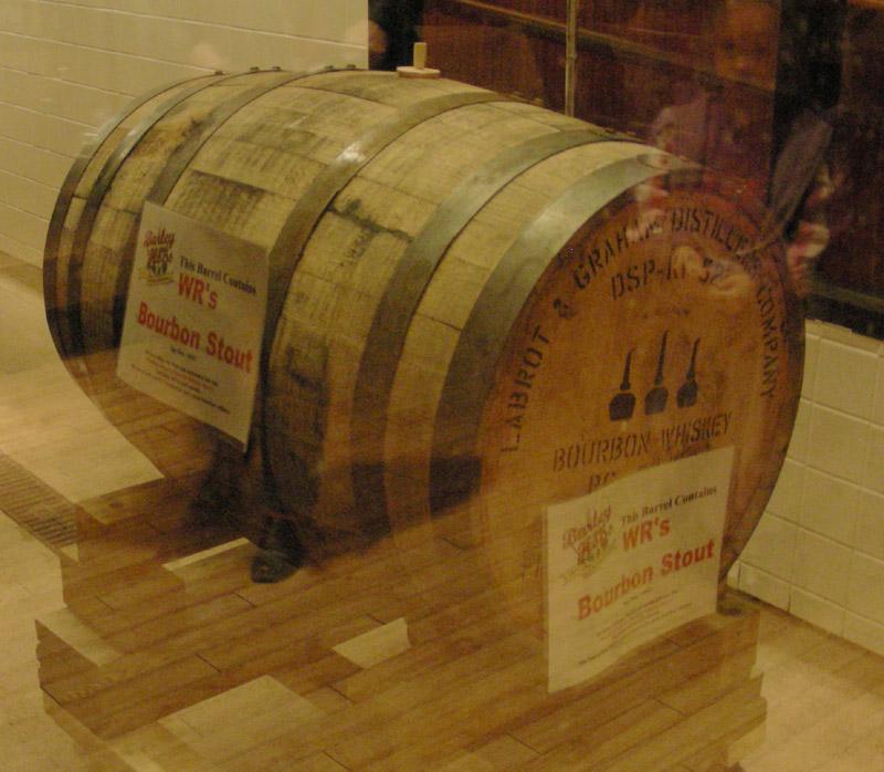 Bourbon Barrel tapping - 01/08