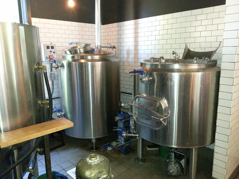 Brewing area