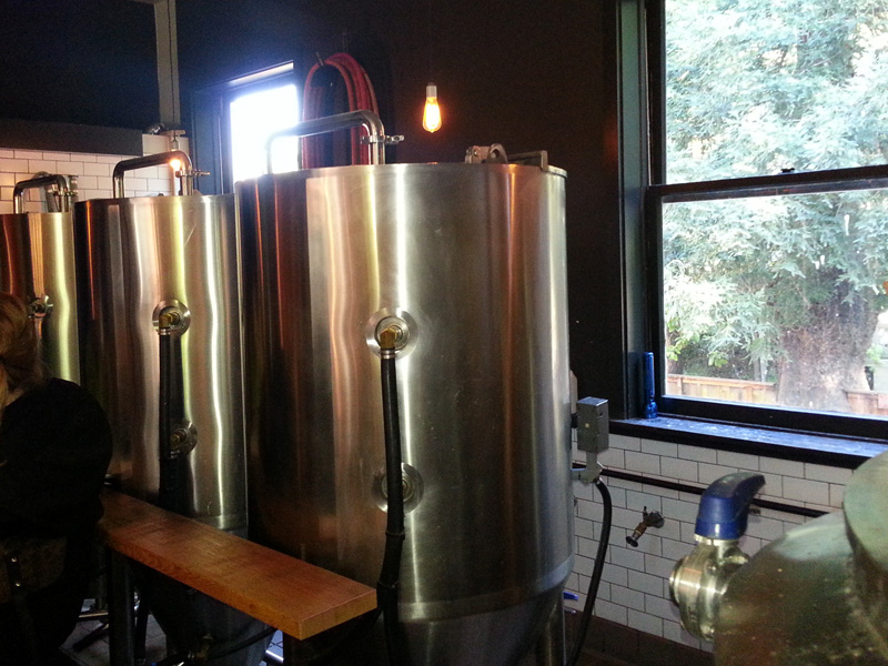 Some of the fermenters