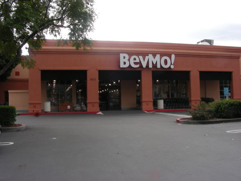 BevMo Mt View entry