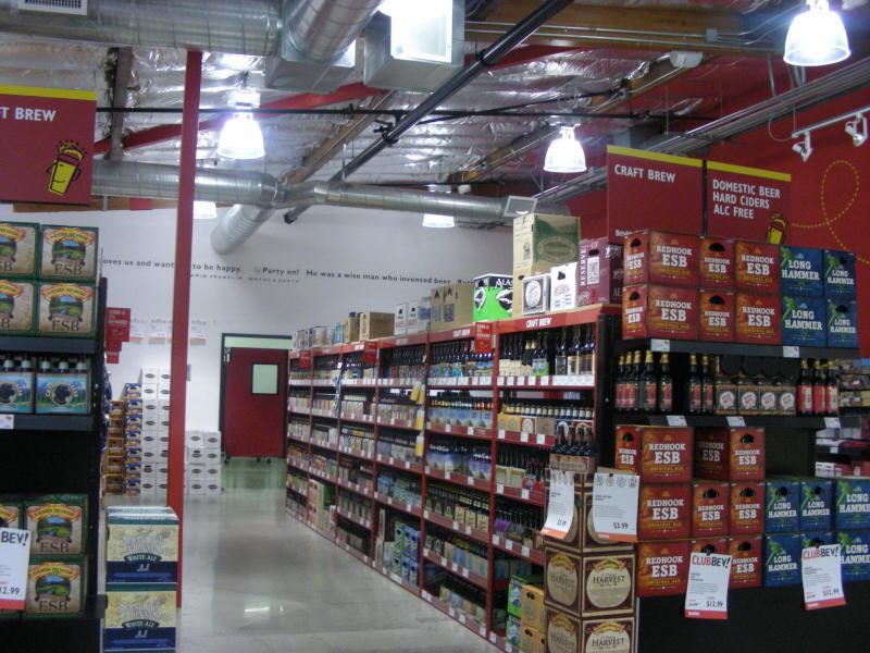 Craft brew aisle