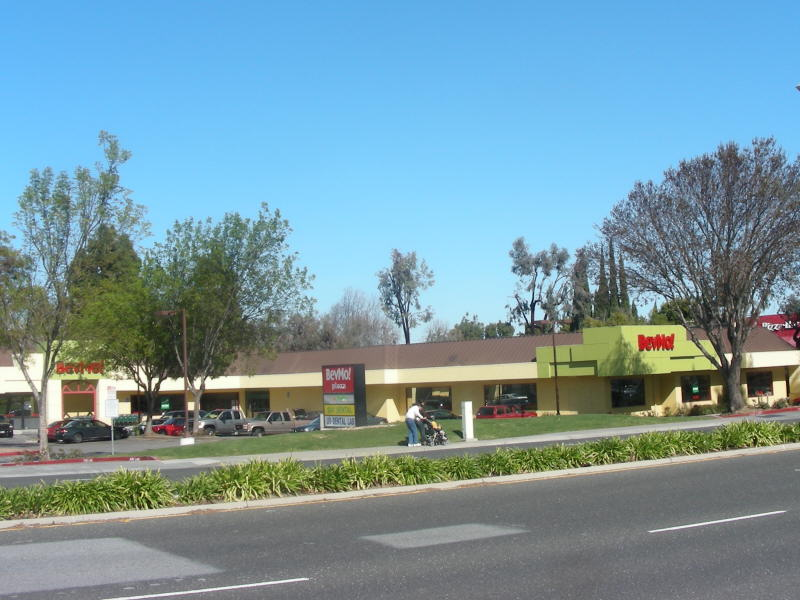 BevMo Sunnyvale from the road