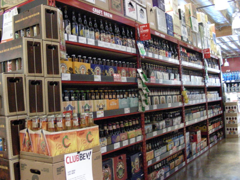 One of several craft aisles