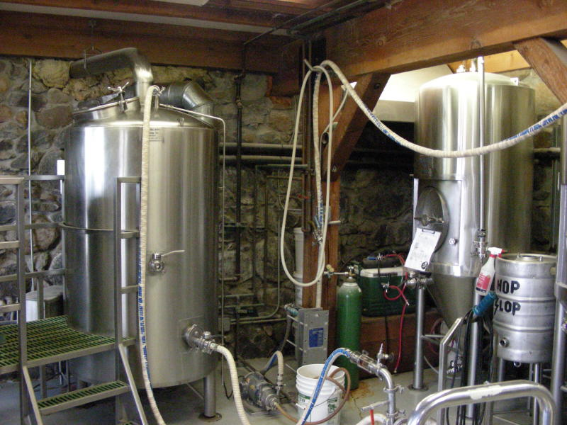 Brew room (on the climb up)