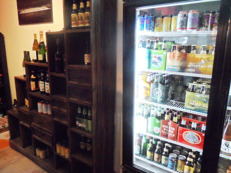 6er cooler and shelves
