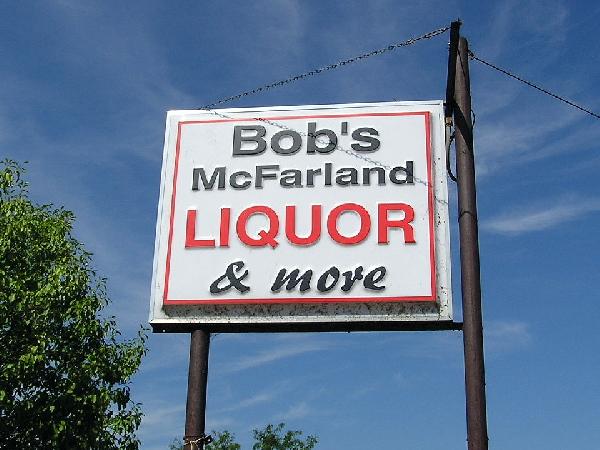 Bob's sign