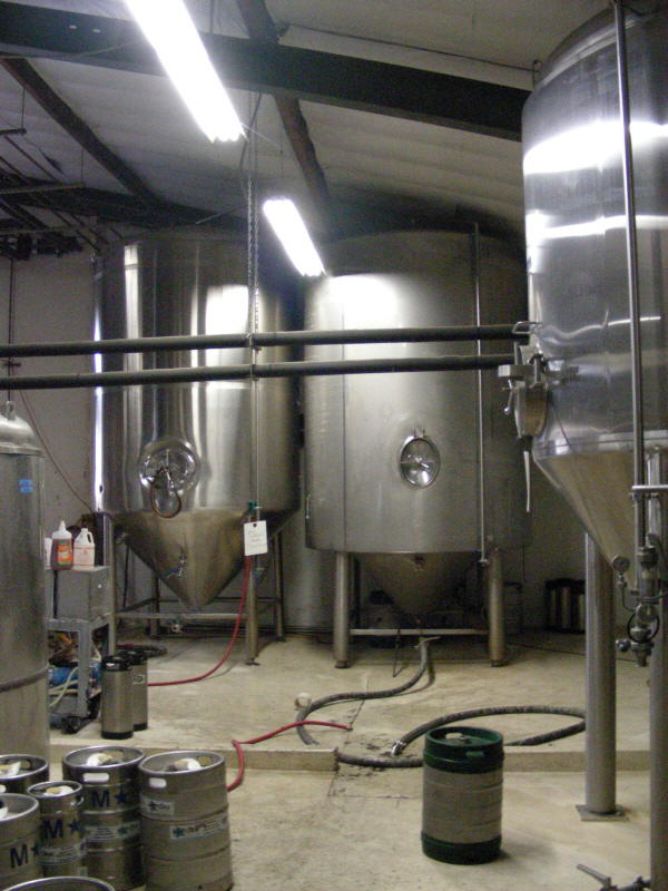 Large Fermenter room