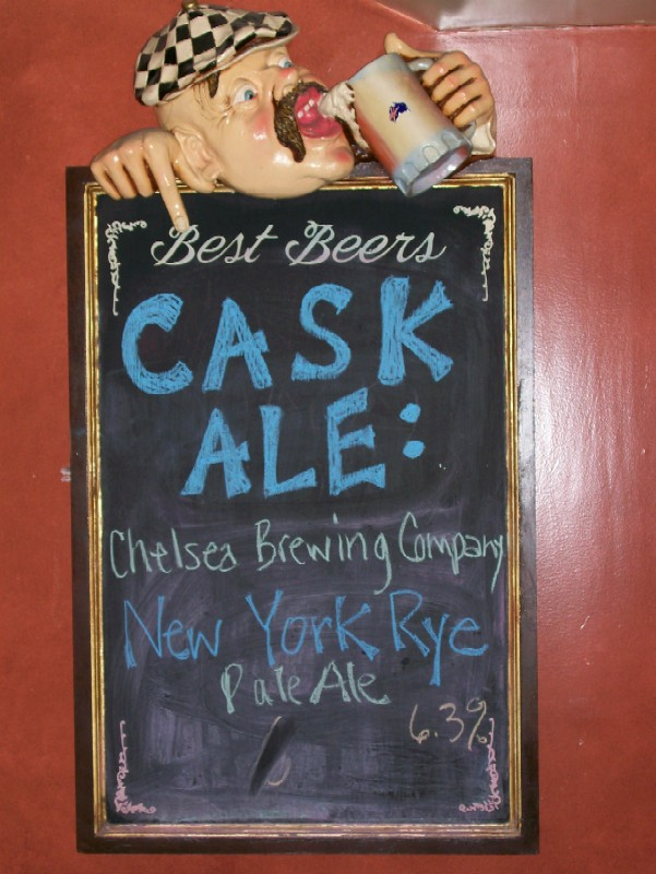 What's on cask?