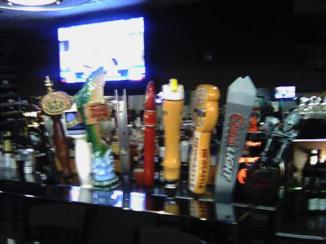 Bad pic of some taps