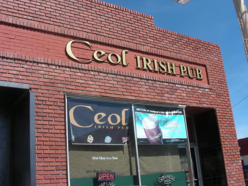 Ceol's storefront