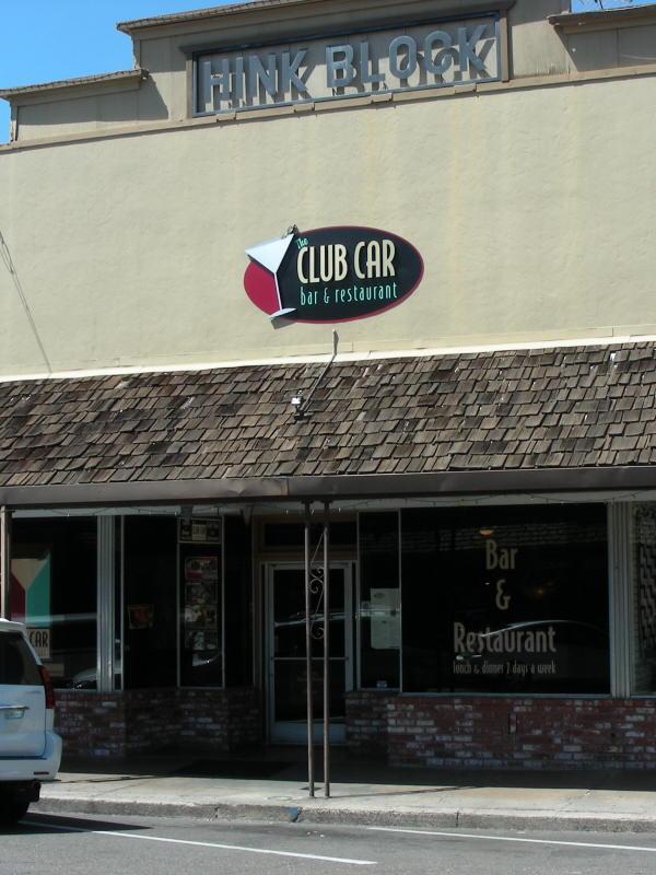 Club Car entry