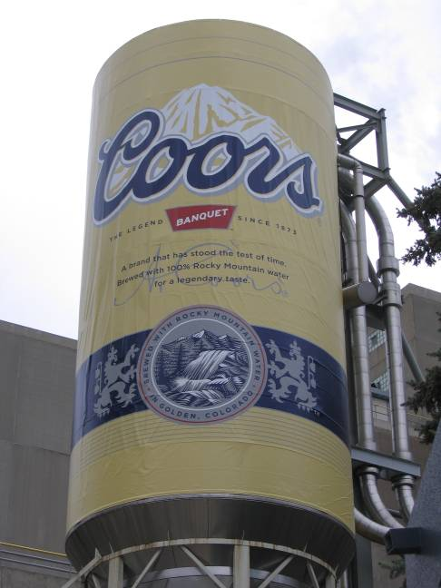 Coors Tank / Can