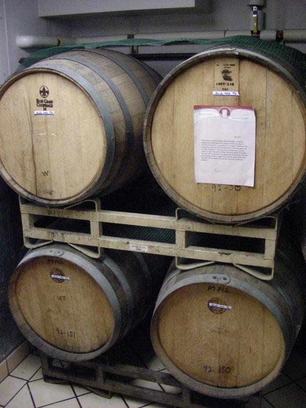 Cooper's barrel cellar