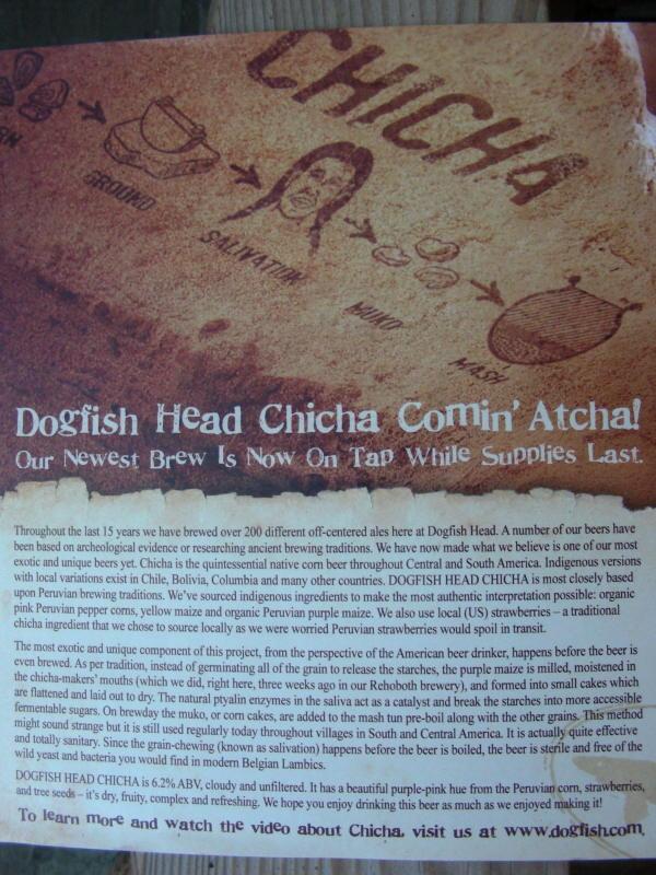 Chicha release