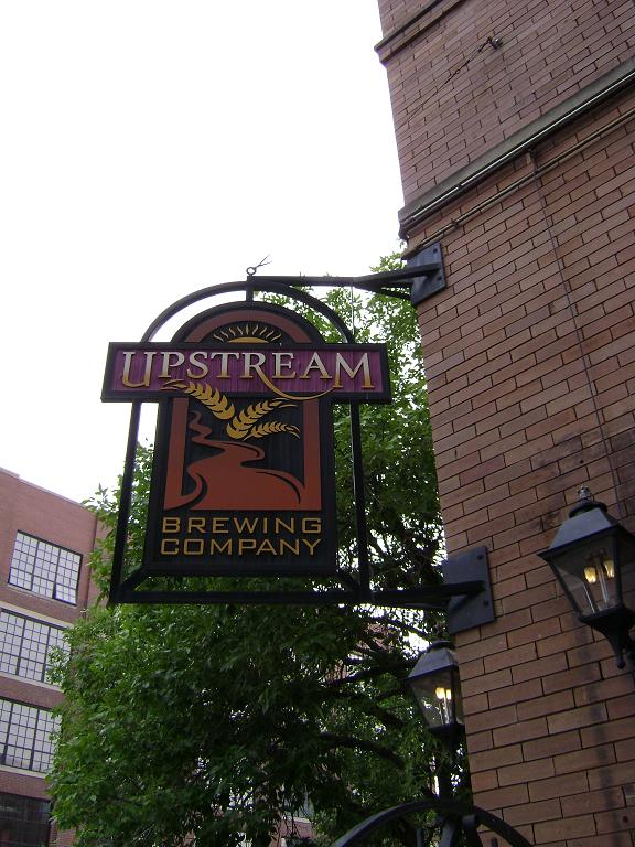 Upstream Brewing Company in the Old Market