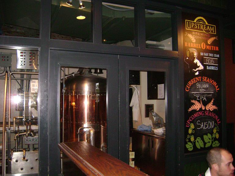 Upstream's seasonals and a peek into the brewhouse