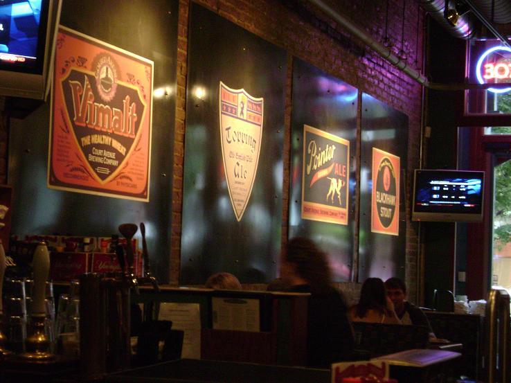 Court Avenue bar area