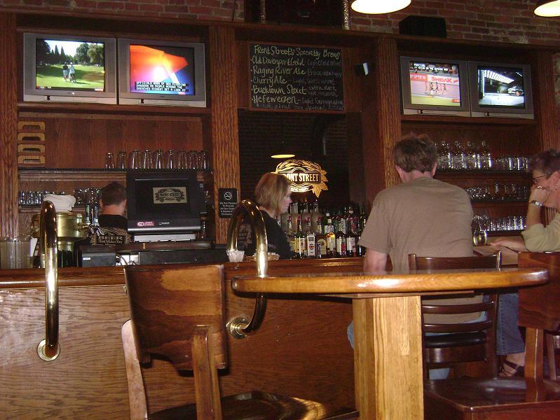 Front Street's bar