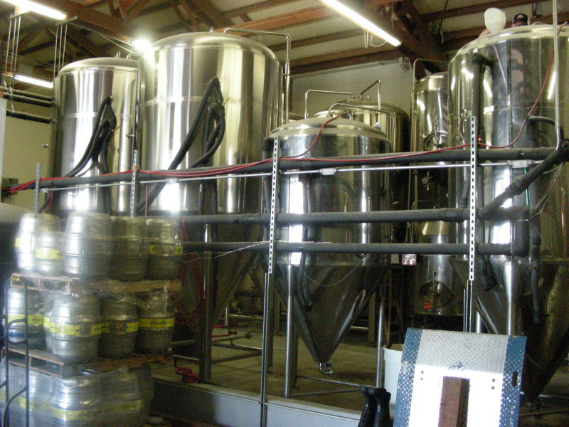 Fermenters and kegs