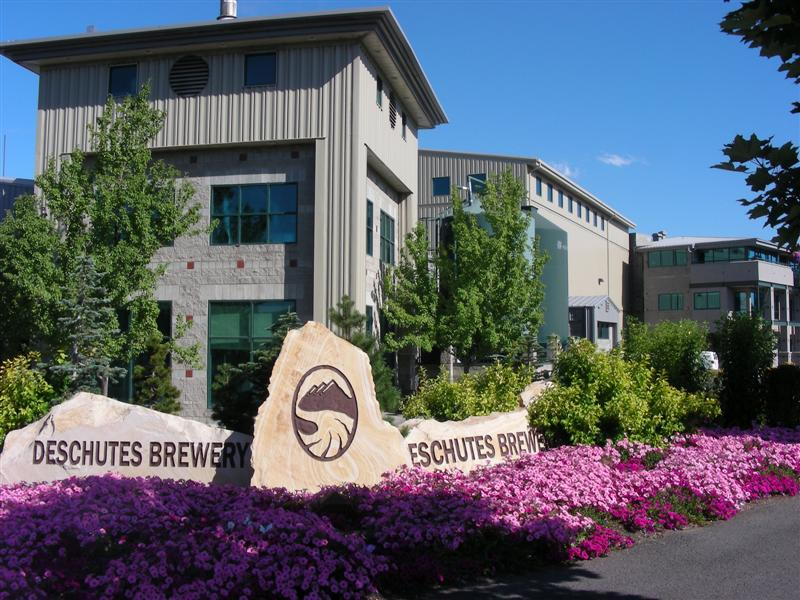 Deschutes Brewery from the circle