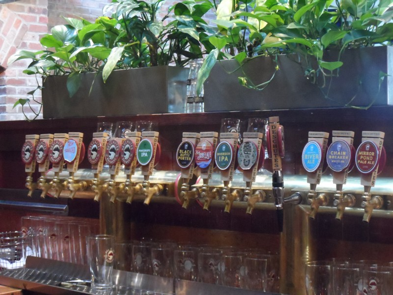 Updated bar taps