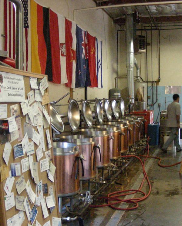 Self brew tanks