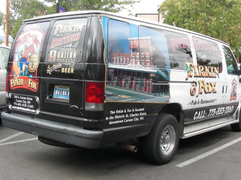 the Firkin van