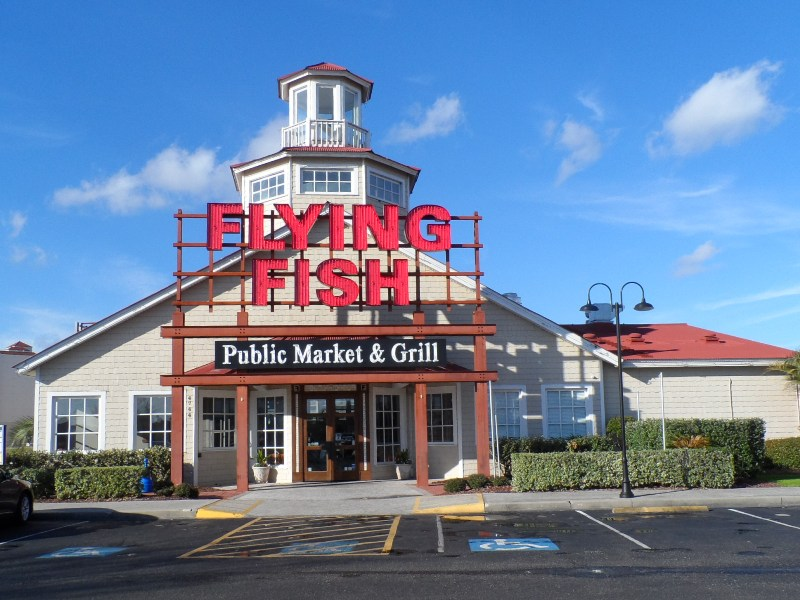 Flying Fish entry