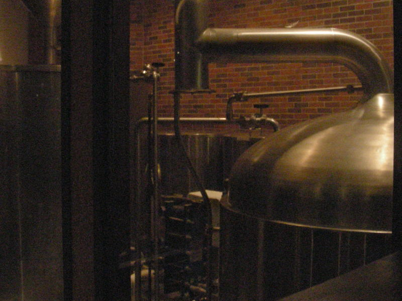 Brew room from bar