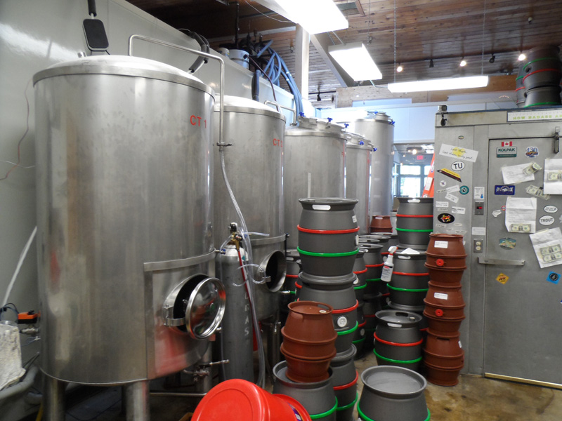 Fermenters and Casks