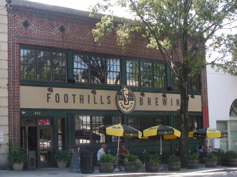 Foothills' entry