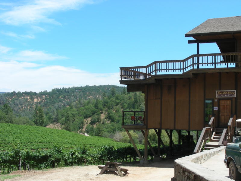 Gold Hill tasting room