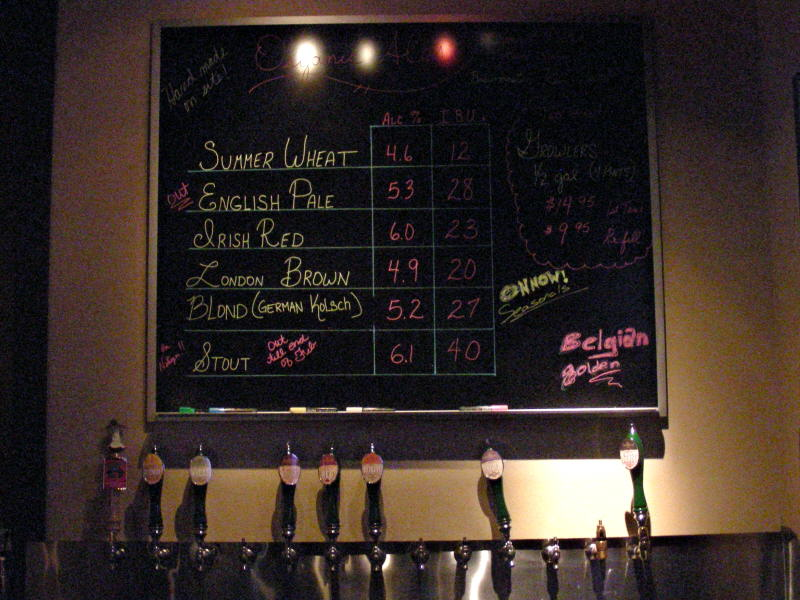 Taps and List - 02/09