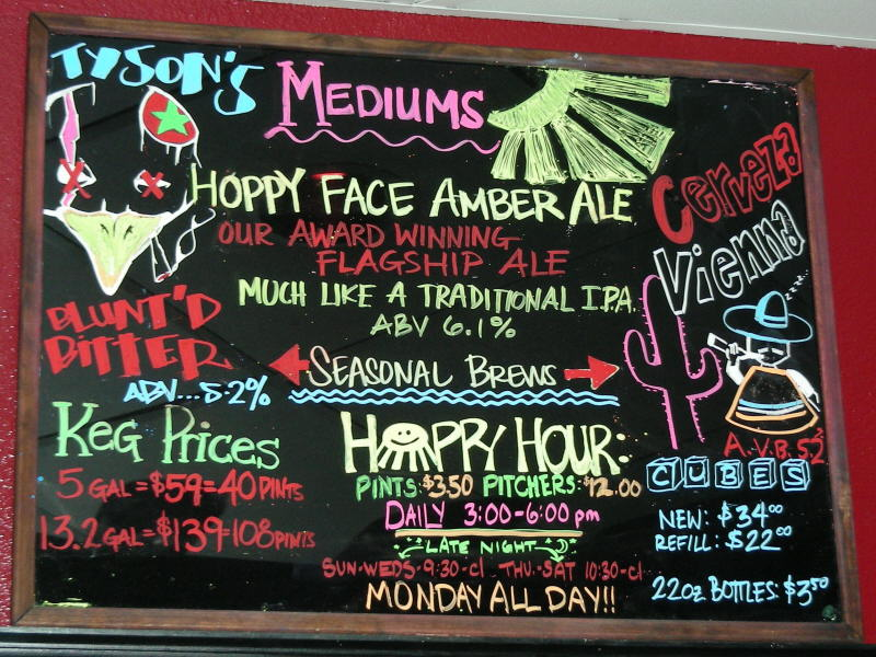 Seasonal Taps - 10/08
