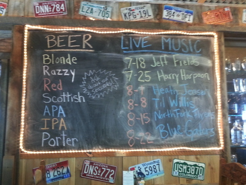 Brew list and Playbill 0715