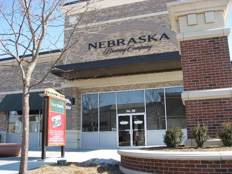 Nebraska Brewing Company - Front Door